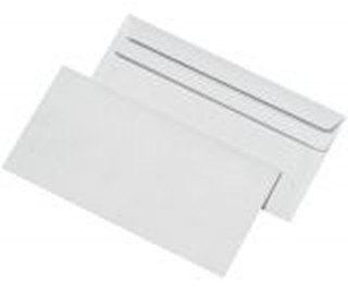 Briefumschlag Din Lang 110x220mm Weiß